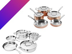 Today only, Cuisinart 8-piece cookware sets are on sale from $140