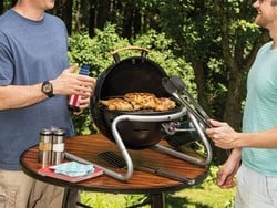 This portable Cuisinart Searin' Sphere Portable Gas Grill is down to $38