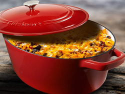 Treat your kitchen to something new with up to 45% off Cuisinart cast iron cookware