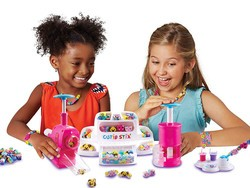 This adorable $9 Cutie Stix set lets kids make their own jewelry
