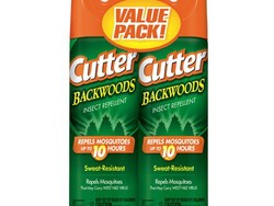 Keep bugs away with two cans of Cutter Backwoods insect repellent for $8