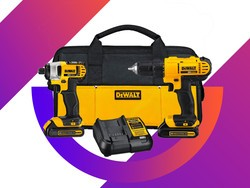 This popular Dewalt Drill/Driver Combo Kit has never been priced so low