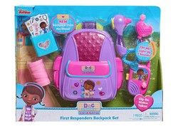 Whiz through med school with the $10 Doc McStuffins First Responders Backpack Playset