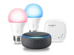 Smarten up your home with an $80 Echo Dot and Sengled smart lighting bundle