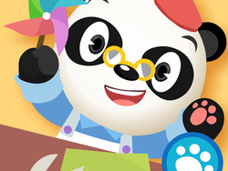 Kids can create fun arts and crafts digitally with the free Dr. Panda Art Class iOS app