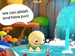 Raise and befriend a baby turtle with the free Dr. Panda & Toto's Treehouse app