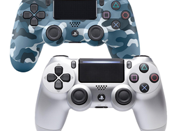 Grab a PS4 DualShock 4 Controller in Silver, Black, or Blue Camo at over 30% off