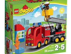 Inspire a young firefighter with the $16 Lego Duplo Fire Truck set