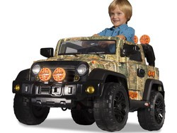 Get the kids outside with this $99 Dynacraft 12V Camo ride-on