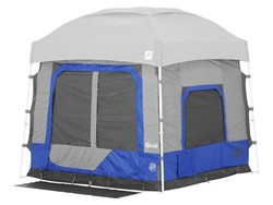E-Z UP canopies and dome shelters are on sale right now