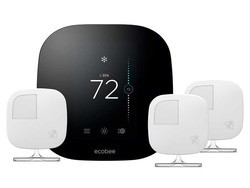 Grab the ecobee3 smart thermostat with three sensors for $200
