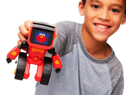 Kids three and up can learn the basics of programming with the $12 Elmoji Junior Coding Robot