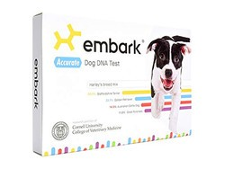 Discover more about your rescued pup with the $129 Embark Dog DNA Test
