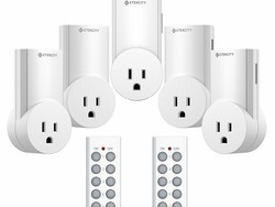 Control up to 5 outlets around your home with this $23 Etekcity remote control package