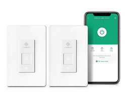 Set schedules and timers with this Smart Light Switch two-pack on sale for $26