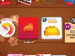 Unwind and have some fun with the Exploding Kittens app for just $1