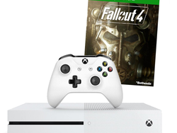 This $200 bundle includes the 500GB Xbox One S console with Fallout 4