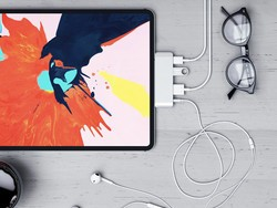 Satechi's USB-C mobile hub is available now and works with the new iPad Pro