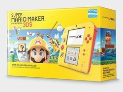 A new Super Mario Maker edition Nintendo 2DS makes its way to Target