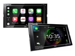 JVC's new multimedia receivers offer access to Apple CarPlay & Android Auto