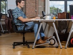 Work out while you work with $70 off the Cubii Pro Under-Desk Elliptical