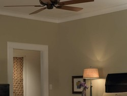 Control the ceiling fan with your voice using Lutron's new smart controller