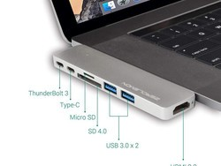 This USB-C hub adds HDMI, USB, SD, and more to your MacBook Pro for $10