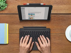 Equip your iPad with Logitech's Slim Combo keyboard case for just $27