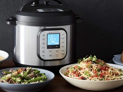 The Instant Pot Duo Nova electric pressure cooker has dropped to $70