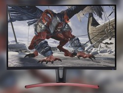 Upgrade to Acer's 27-inch curved FreeSync monitor on sale for $270