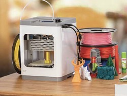 The Monoprice Cadet is a great 3D printer for beginners on sale for $200