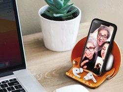Get the new VogDUO leather iPhone stand or AirPods case at up to 35% off