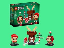 This LEGO Reindeer & Elf set makes the perfect stocking stuffer at 50% off