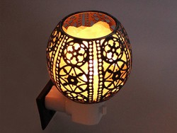 Add this rad FilFom Himalayan Salt Lamp nightlight to your home for $6
