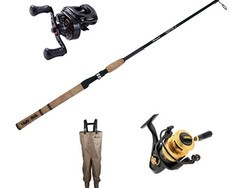 Save 25% on popular fishing gear from Berkley, Ugly Stick, Penn, and more today only