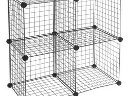 Organize your room with these four $15 cube storage shelves