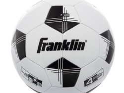 Kick around a size 4 Franklin soccer ball for $5