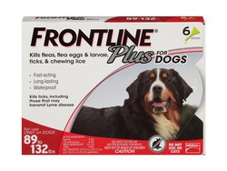 Protect your extra-large dog from fleas & ticks with 6 Frontline doses for $43