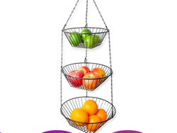 Display your fruits and veggies with this $6 hanging basket