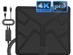 Watch in HD with 50% off this Amplified 80-mile Digital TV Antenna