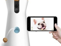 Check in on your pets when you're away from home with the $199 Furbo Wi-Fi Dog Camera