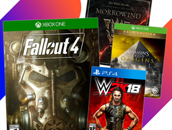 GameStop has digital downloads for Xbox One and PlayStation 4 on sale from $16