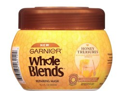 Try out the Garnier Whole Blends Honey Treasures Hair Mask with this free sample