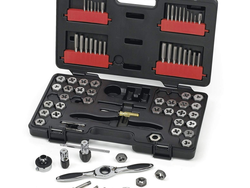 """Gearwrench's discounted Tap and Die Set features a ratcheting """"T"""" wrench for $85"""