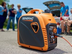 Always have power with Generac's 2200 Watt portable generator for $507