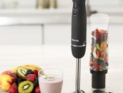 The Gourmia Handheld Personal Smoothie Maker is down to $18 for a limited time