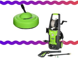 Today only, Greenworks Pressure Washers and Accessories on sale from $11
