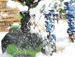 Save on Greenworks Snowblowers with prices starting from $92