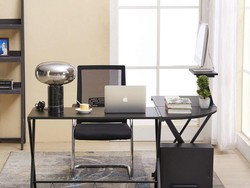Add something new to your home office with this $86 GreenForest corner desk