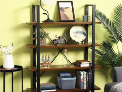 Add a four-shelf GreenForest Bookcase to your home at a $45 discount